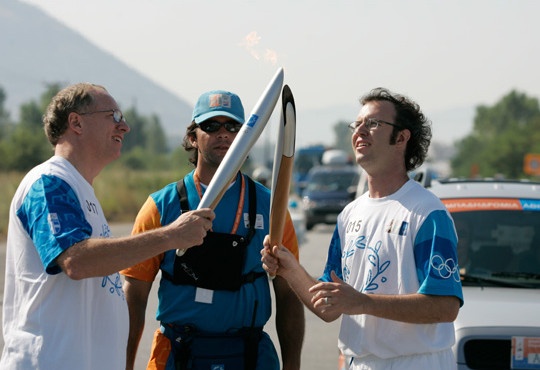 Athens Olympic 2004 Relay Torch