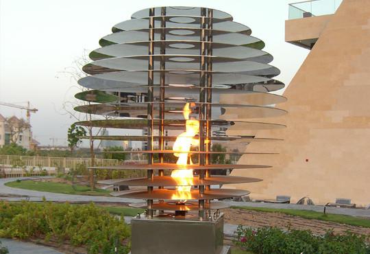 Wafi City Mall - Khan Murjan Flame and Hotel Garden Flame